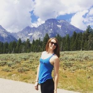Me at Grand Teton Natinal Park