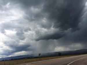 Angry Idaho clouds